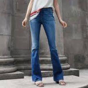 Ann Taylor LOFT High-Rise Curvy Flare Jeans